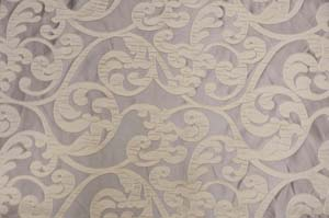 Taupe Victorian Damask Table Drapes Table Drapes