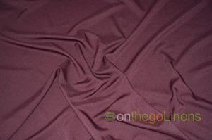 Dark Burgundy Visa Polyester Chair Cover Pillowcases Universal Pillowcases