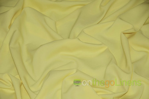 Light Yellow Visa Polyester Chair Cover Pillowcases Universal Pillowcases