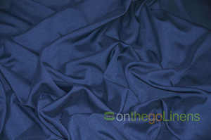 Navy Blue Visa Polyester Ballroom Banquet Chair Covers Ballroom and Banquet Chair Covers