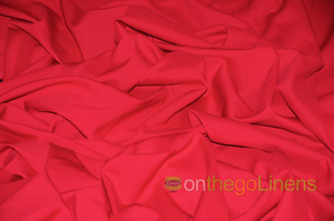 Red Visa Polyester Chair Cover Pillowcases Universal Pillowcases