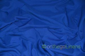 Royal Blue Visa Polyester Chair Cover Pillowcases Universal Pillowcases