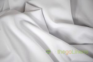 White Visa Polyester Chair Cover Pillowcases Universal Pillowcases